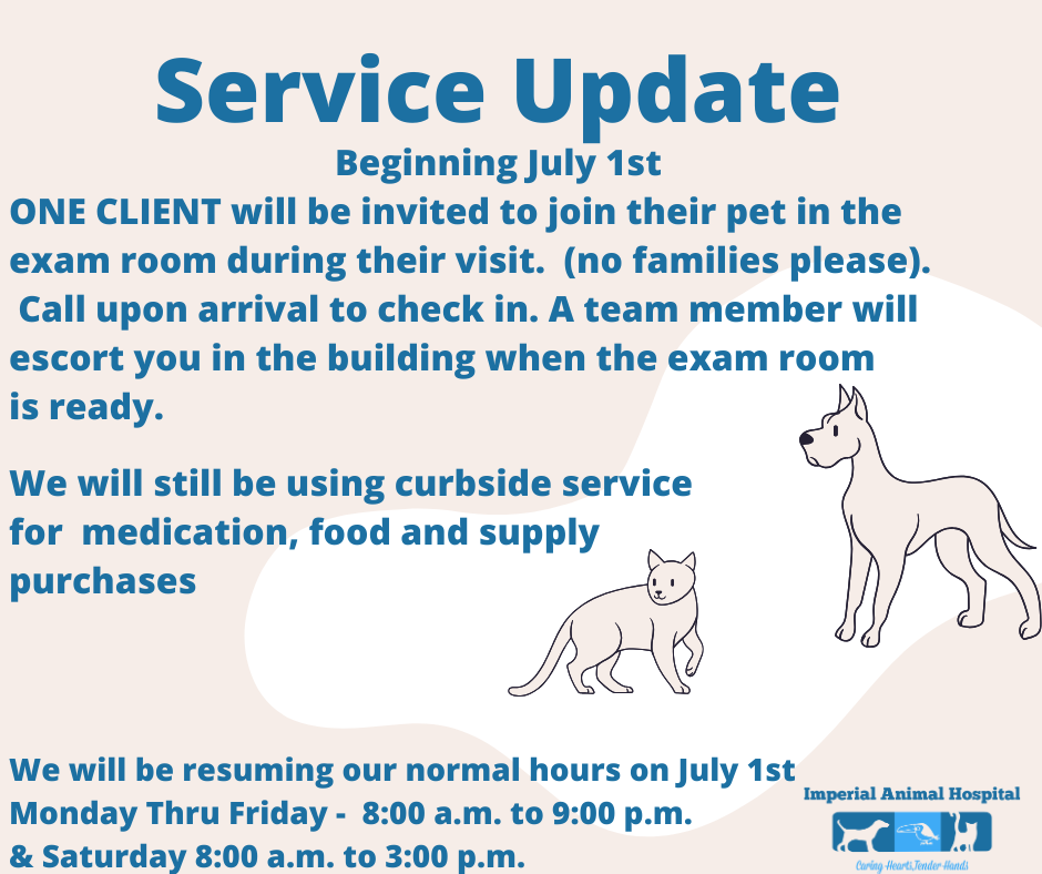 COVID-19 Service Announcement